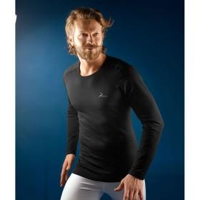 PROGAME-30 Man L/S Crew Neck T-Shirt FALL/WINTER in black colour - KONUS