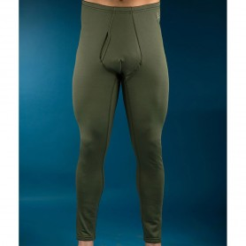 PROGAME-50 Tights with crotch opening FALL/WINTER in green colour - KONUS