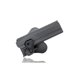 Fondina in polimero per  Colt 1911 e cloni 6″ -  CYTAC