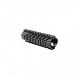 "7"" FREE FLOAT QUAD RAIL HANDGUARD - AIM SPORTS"