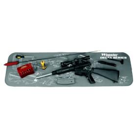 AR 15 Maintenance Mat Tappetino in gomma pulizia armi - WHEELER