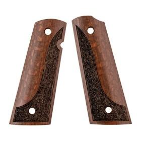Wooden grip for 1911 for Models: Government e Commander - ARTISAN STOCK AND GUNWORKS INC