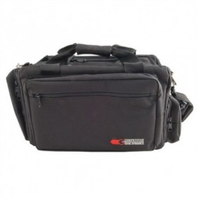 Deluxe Professional Range Bag, Black - COMPETITIVE EDGE DYNAMICS