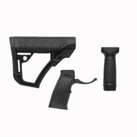 polymer stock and forend set for AR-15 - DANIEL DEFENSE