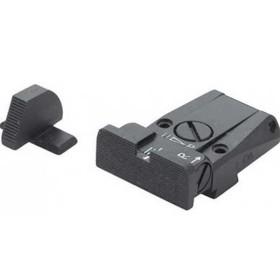 Set sight for Sig Sauer Gun model Serrated - FUSION FIREARMS