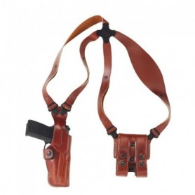 "gun holster - Vertical Shoulder System Ruger SP101 2 1/4"" -Tan - GALCO INTERNATIONAL"