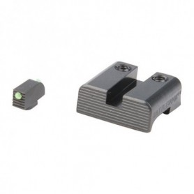 Fiber Optic Sight Set for Glock Pistol for Models: 17,19,22,23,24,26,27,33,34,35,37,38 and 39 - HENNING GROUP