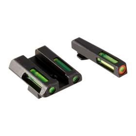 Gun Fiber optic front sight for Glock for Models: 9mm/.40S&W/.357 - HIVIZ