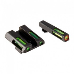 Gun Fiber optic front sight for Glock for Models: 42 and 43 - HIVIZ