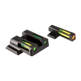 Gun Fiber optic front sight for Heckler & Koch for Models: VP9,VP40,P30sk,HK45,P30 and HK45 Compact - HIVIZ