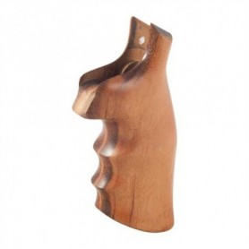 Smooth grip for S&W N in Wood - HOGUE
