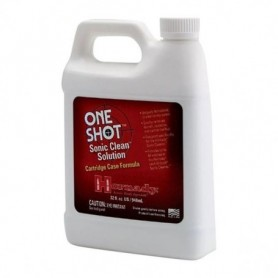 Case Cleaning Additive - One Shot Sonic Clean Gun Parts Solution, 1 Quart - HORNADY