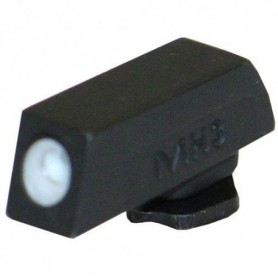Gun front sight Glock for Models: 17, 19, 20, 21, 22, 23, 26, 27, 29, 30, 31 ,32, 33 - MEPROLIGHT