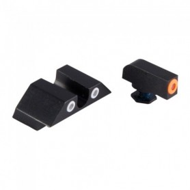 Gun set sight for Glock for i Models: 17, 17L, 19, 22, 23, 24, 25, 26, 27, 28, 31, 32, 33, 34, 35, 37 and 38 - NIGHT FISION