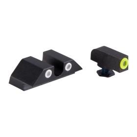 Gun set sight for Glock Models: 17,17L,19,22,23,24,25,26,27,28,31,32,33,34,35,37 e 38 - NIGHT FISION