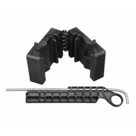 Delta Series AR-15 Upper Vise Block Clamp per smontaggio upper reciever. - WHEELER
