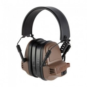 Shooting earmuff -  NoizeBarrier Range SA Ear Muffs FDE - OTTO ENGINEERING