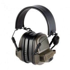 Shooting earmuff - NoizeBarrier Range SA Ear Muffs OD Green - OTTO ENGINEERING