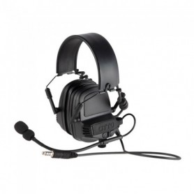 Shooting earmuff - NoizeBarrier TAC Ear Muffs Black - OTTO ENGINEERING