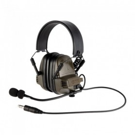 Shooting earmuff - NoizeBarrier TAC Ear Muffs OD Green - OTTO ENGINEERING