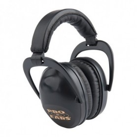 Shooting earmuff - Ultra Sleek-Black - PRO EARS