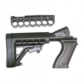Polymer Stock for Mossberg for Models:500 and 590 in Ga 12 - PRO MAG