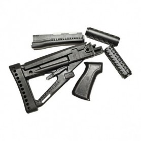 polymer stock and forend set for AK-47 - PRO MAG