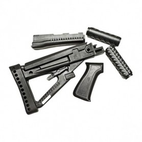 Wooden stock and forend set for AK-47 - PRO MAG