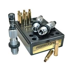 243 Winchester Premium Deluxe Die Set - REDDING