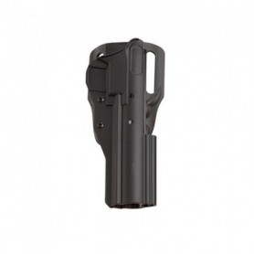 Low Ride Holster MK I-MK IV/ 22/45 Black CF Ambidextrous - TACTICAL SOLUTIONS, LLC