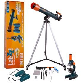 Levenhuk LabZZ MTB3 Microscope & Telescope & Binoculars Kit - LEVENHUK
