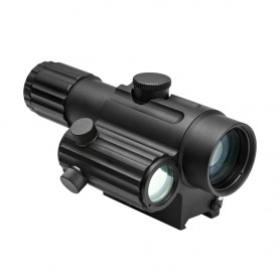 Cannocchiale da puntamento Dual Urban Optic 4X34mm con Offset Green Dot - NC STAR