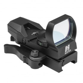 Red Dot 4 reticoli Reflex/ QR Mount/ Black - NC STAR