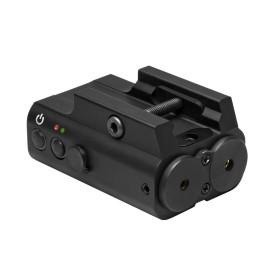 Doppio laser verde - rosso con regolazioni/accensioni separate - NC STAR