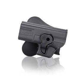 Fondina in polimero per Glock 19/23/32 tiratori mancini- CYTAC