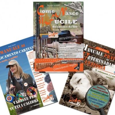 Come Nasce il Fucile & Manuale di Caricamento Cartucce & Manuale Pratico Veterinaria - UOMINI DEI BOSCHI