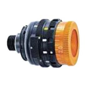 Iride Regolabile da 0.5 mm. a 3.0 mm, arancione, polarizzante, filtro 5 colori - ANSCHUTZ