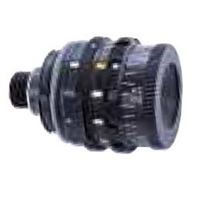 Iride Regolabile da 0.5 mm. a 3.0 mm, nero, polarizzante, filtro 5 colori - ANSCHUTZ