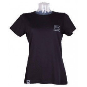 T-Shirt a Maniche Corte da Donna con Logo Stampato Taglia L - GLOCK