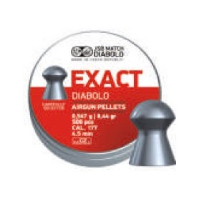 Pallini EXACT per Carabina Aria Compressa Calibro 4,50 - JSB MATCH DIABOLO