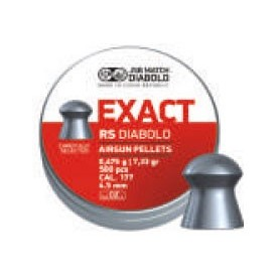 Pallini EXACT RS per Carabina Aria Compressa Calibro 4,52 - JSB MATCH DIABOLO