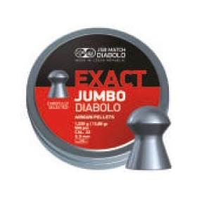Pallini EXACT JUMBO per Carabina Aria Compressa Calibro 5,52 - JSB MATCH DIABOLO