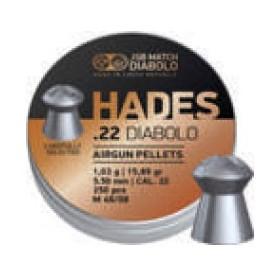 Pallini HADES DIABOLO per CarabinaAria Compressa Calibro 5,50 - JSB MATCH DIABOLO