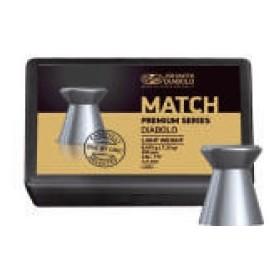 Pallini MATCH PREMIUM - Light Weight per Pistola ad Aria Compressa Calibro 4,49 - JSB MATCH DIABOLO