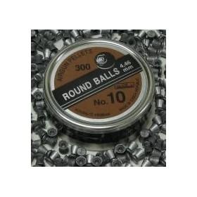 PALLINI TONDO SHOT N10 - DIAMETRO 4,46 mm.  - 0,39 Grammi - SAG NATURE
