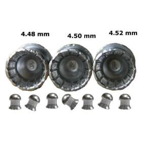 PALLINI DEFIANT 4,48 mm. - 0,49 Grammi – SMALL - SAG NATURE