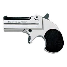BLANK PISTOL MODEL DERRINGER CAL.6 mm CHROME - KIMAR