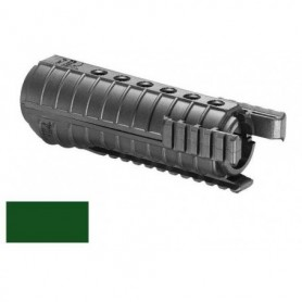 POLYMER FOREND with THREE RAILS  for M4 (FGR-3) GREEN - FAB DEFENSE