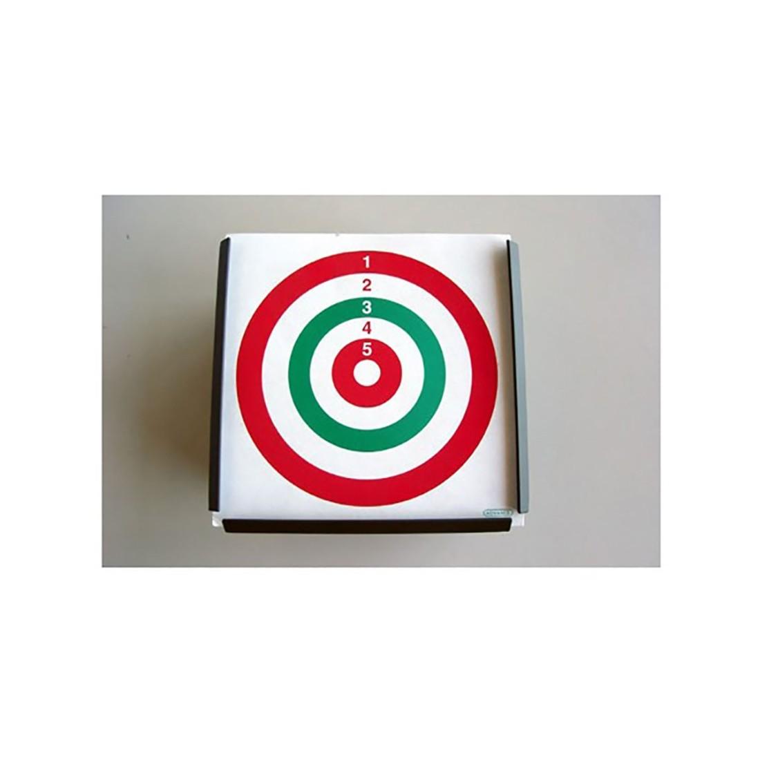 Porta bersaglio quadrato cm. 14x14 - ADVANCE GROUP