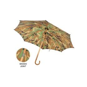Ombrello da pastore in legno bambù con snodo colore Woodland - UDB